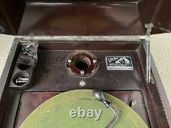 1906 Victor Victrola VV-IX Phonograph Record Player USA For parts or res