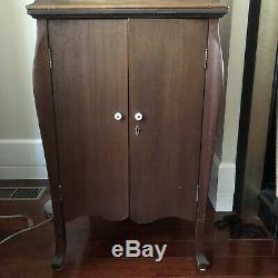 1915 Victor Victrola Table Top Record Player VV-IX- Phonograph Cabinet 78 RPM