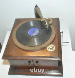 Antique 1900's Victor Victrola VV-VI Talking Machine Record Player Phonograph