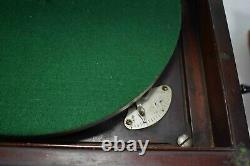 Antique 1906 Victor Victrola VV-IX Phonograph Record Player USA With 38 Records