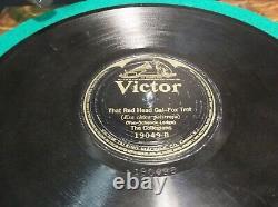 Antique 1917 Victor-Victrola VV-VI Talking Machine Record Player Phonograph