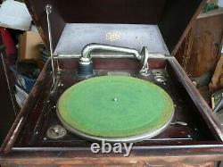 Antique Pathe model VII Phonograph Hand Crank Record Player for pick up