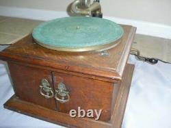Antique Victor VV-VI Victrola Talking Machine Phonograph Record Player