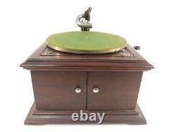 Antique Victor Victrola VV-VI Phonograph Record Player Talking Machine Needles