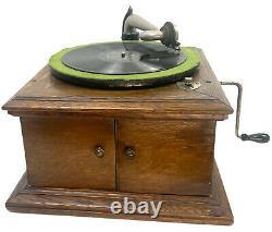 Antique Victor Victrola VV-VI Talking Machine Record Player Works Parts VIDEO