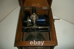 Edison Vintage Cylinder Record Player Phonograph Grafonola Victrola 27 Cylinders