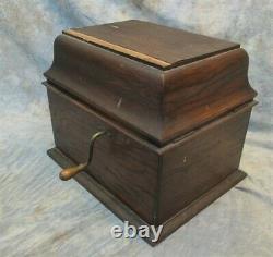 Edison Vintage Cylinder Record Player Phonograph Grafonola Victrola Parts Repair
