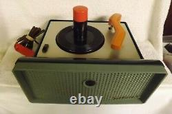 RCA Victor 45 Record Player 7-EY-2HH Victrola Deluxe Vintage Turntable Phonograp