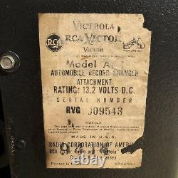 RCA Victor Victrola Auto Record Player Model AP -1. Year 1960