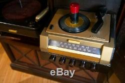 RCA Victor Victrola Dual Record Player With Radio, 78 Player + 45 Record Player