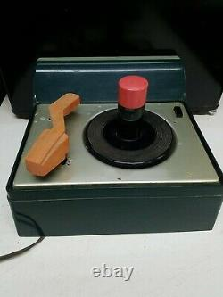 Rare RCA Victor 45 Record Player 7-EY-2HH Victrola Deluxe Vintage