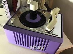 Rca Victor Portable Battery Powered Record Player Victrola Ey2 Circa 1950