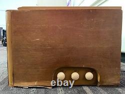 Rca Victor Victrola 78 RPM Record Player Demonstrator Model 66e 1946 Rare