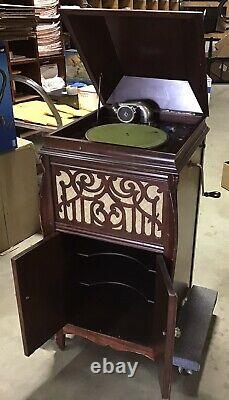 VICTROLA Phonograph SEARS SILVERTONE Stand-Up Record Player parts repair