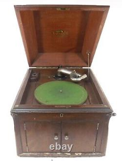 Victor Victrola VV-X1 Wind Up Phonograph Record Player Console Parts &/or Repair