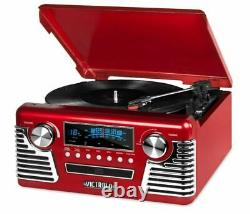 Victrola 50's Retro Bluetooth Record Player with Built-in Speakers