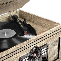 Victrola 6-In-1 Nostalgic Bluetooth Record Player With 3-Speed Turntable Farm
