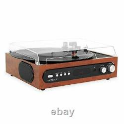 Victrola All-in-1 Bluetooth Record Player & Vintage Vinyl Record Storage and