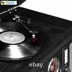 Victrola Aviator 8-in-1 Bluetooth Record Player & Multimedia Center with Built-i