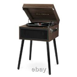 Victrola Bluetooth Record Player Built-in Speakers Long Stand 3-Speed Turntable