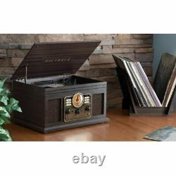 Victrola Hawthorne 7 in 1 Bluetooth Record Player Turntable