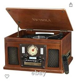 Victrola Navigator 8in1 Classic Record Player with Bluetooth