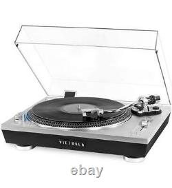Victrola Pro 2000-SLV USB Record Player Turntable