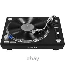 Victrola Pro Series USB Record Player with 2-Speed Turntable and Dust Cover M