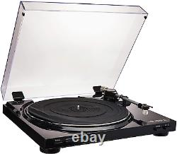 Victrola Pro Usb Record Player With 2-Speed Turntable And Dust Cover, Black Vpr