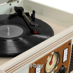 Victrola Record Player 8-in-1 Classic Bluetooth USB Encoding 3-Speed Turntable