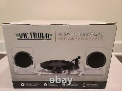Victrola Record Player Rust Resistance Rechargeable Speakers 2-Speed Turntable