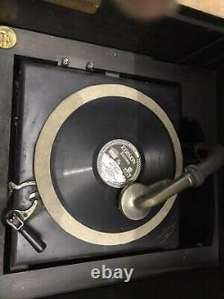 Victrola record player antique