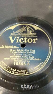 Vintage 1920s Columbia Harmony Victrola Portable No. 2 Phonograph Record Player
