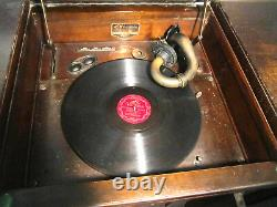 Vintage Victor Console 1920's Victrola Record Player #VV4-40162836