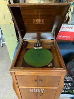 Vintage Victor Victrola Talking Machine Record Player 17079 Phonograph