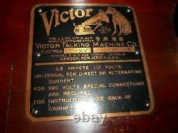 Vintage Victor Victrola Talking Machine VE-XVI Phonograph Player Pick Up Only