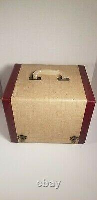 Vintage Victrola Rca Victor Record Player Model 45-ey-2 Working