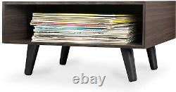 Vintaze Record Player w Vinyl LP Storage Stand Turntable Entertainment Center